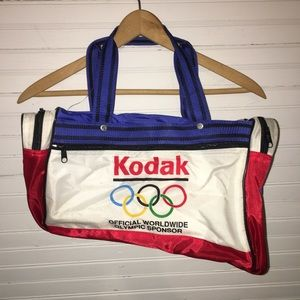 Other - VINTAGE KODAK WORLD OLYMPIC SPONSOR BAG